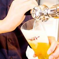 石窯料理に工場直送ビールとワインを堪能