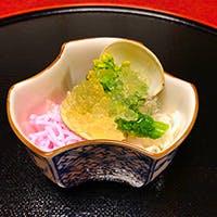 厳しく目利きした食材を使った旬を捉えた和食