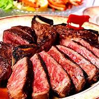 注目の「熊本あか牛」のステーキ