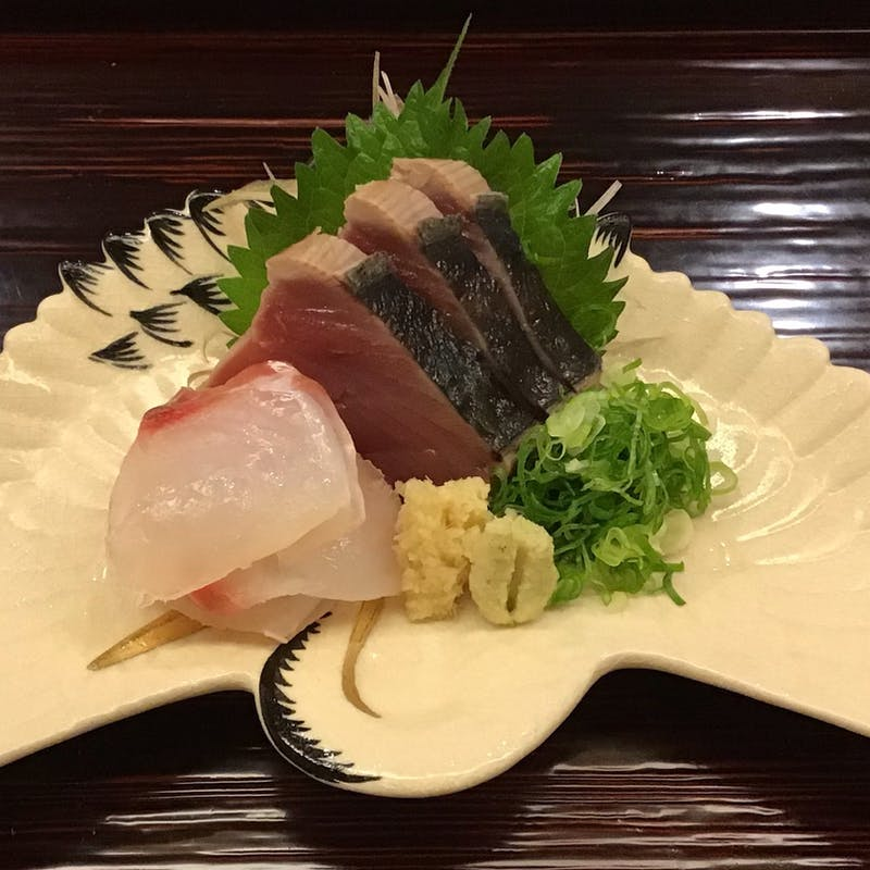 【ミニ懐石ランチコース】前菜、お造り、焼き物、煮物、釜飯、水物の全6品