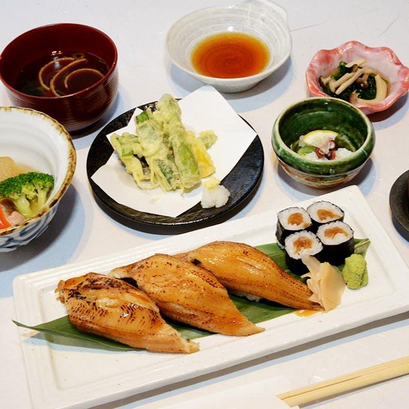 【煮穴子炙り御膳】栄養価の高い穴子と旬の野菜で免疫力を高める御膳