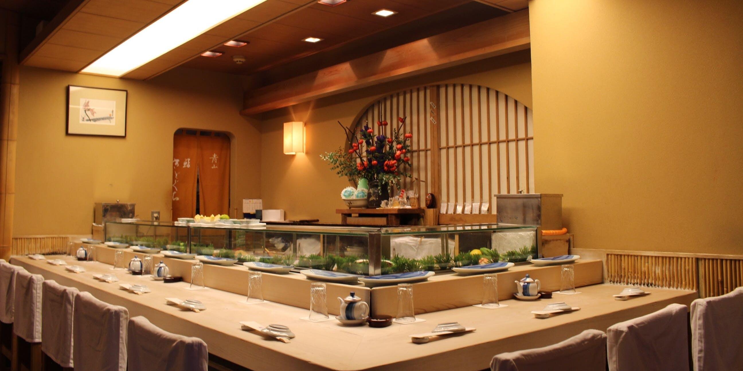 記念日におすすめのレストラン・鮨きどぐちの写真1