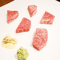 お客様の好みにあわせてお肉をプロデュース