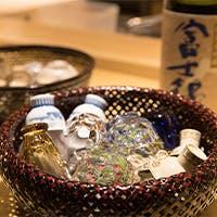 静岡の地酒を中心に銘酒が揃う