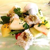 有機野菜や季節の旬な食材をご堪能