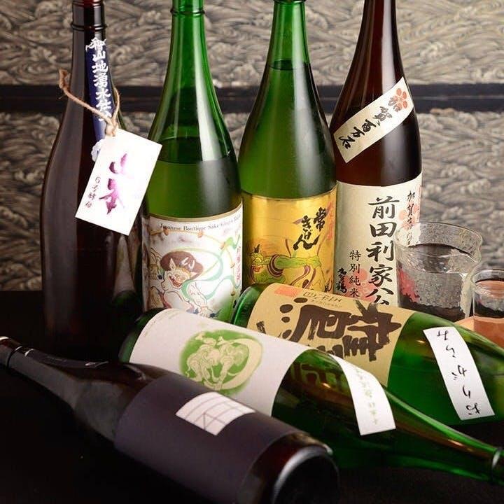 常備50種類以上、47都道府県の日本酒
