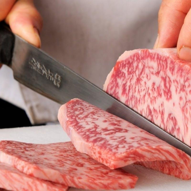 【特選お任せコース(12品程度)】シャトーブリアンなどの特選牛を旨味に合った料理に彩る