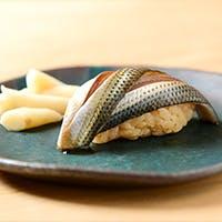 厳選された新鮮な食材で握る鮨