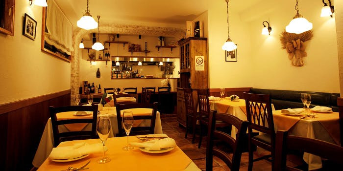 記念日におすすめのレストラン・Trattoria Antiquatoの写真1