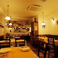 イタリアの大衆食堂を再現