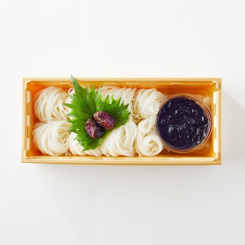 【夏限定】特製の「海苔ダレ」で、麺を楽しむ(テイクアウト専用プラン)
