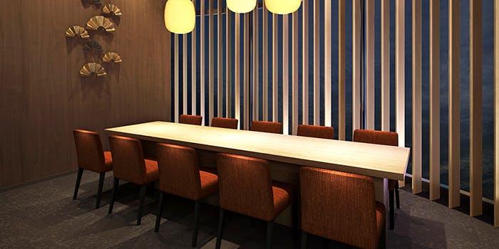 記念日におすすめのレストラン・北大路 新橋茶寮 汐留シティセンター店の写真1