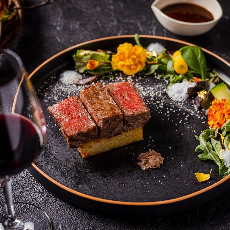 【18F Restaurant】7 COURSE DINNER+1 Glass of  Sparkling