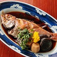 京都のおばんざいと旬の魚介や味覚に舌鼓