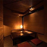 全席完全個室の会員制日本料理店