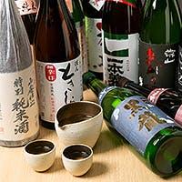 豊富な種類の地酒