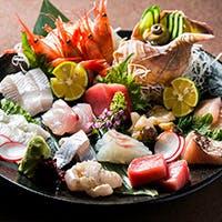 季節に合う旬の鮮魚をご堪能