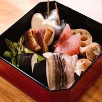 最上級の食材をアレンジ~想像を超える天ぷらの組み合わせを~