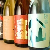 利き酒師の女将が厳選する日本酒