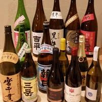 種類豊富な日本酒やビールなども