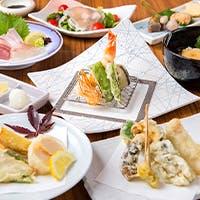 食通も唸る旬食材を使用した絶品天ぷら
