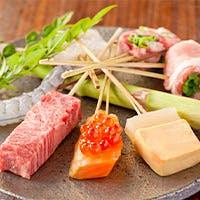豊富な良質食材と練り粉