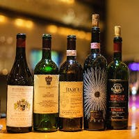 グラスワインは約300種