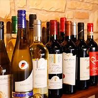 料理の魅力を高める充実のワイン
