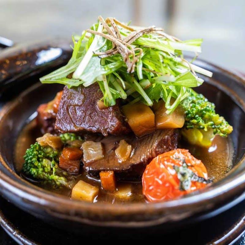 【今月の懐石ディナー】魚&肉料理Wメイン等6品