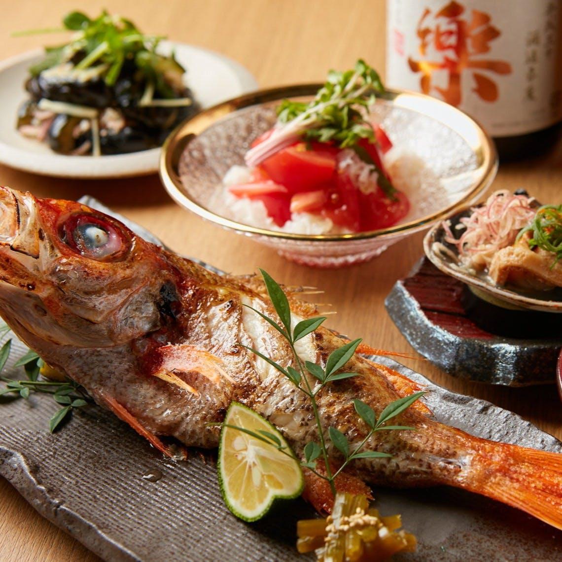 お料理に合わせた日本酒をご提案します