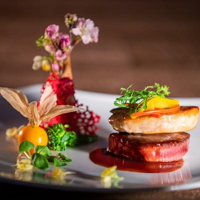 【DEGUSTATION Course 全7品】お魚・お肉料理、前菜2種、アヴァンデセール等