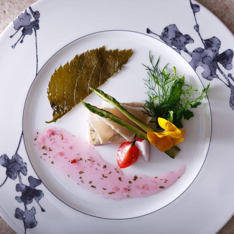 【le diner A 全6品】旬のアミュゼット、前菜、お魚料理、お肉料理、デザートなど