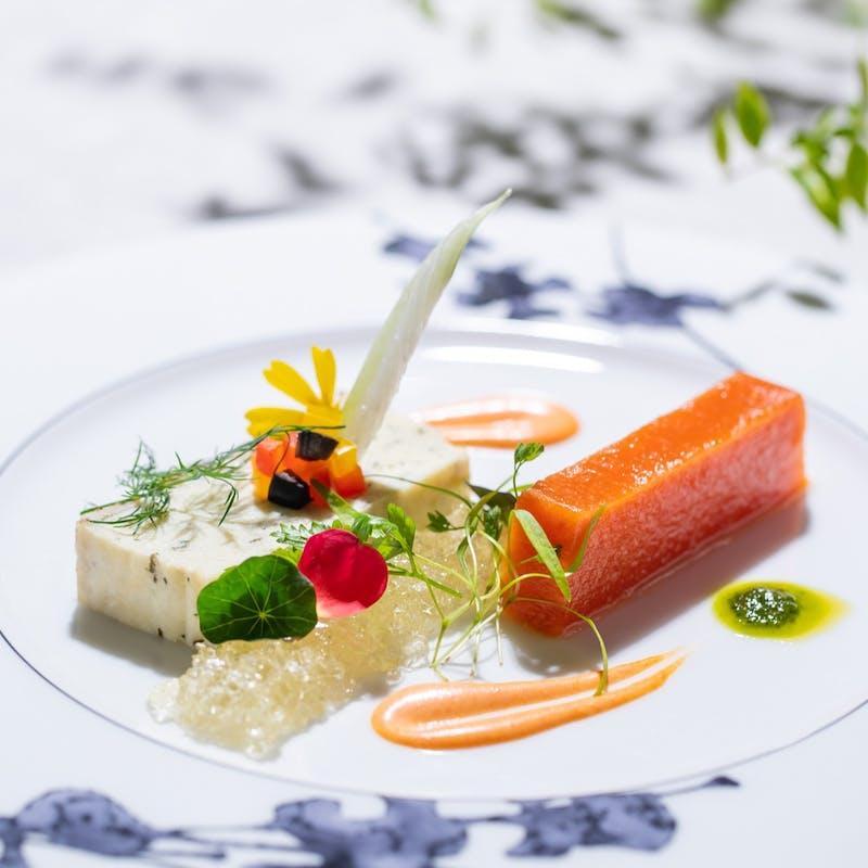 【special course lunch 全4品】メイン、副菜、デザートなど+フリードリンク(メインがオマール海老)
