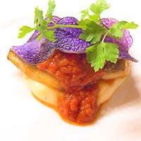 季節の旬食材を使用したイタリア料理