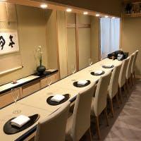 こだわりの日本料理を落ち着いたカウンター席で