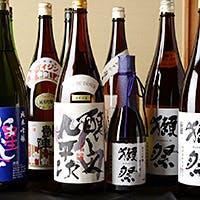 厳選した日本酒をご用意