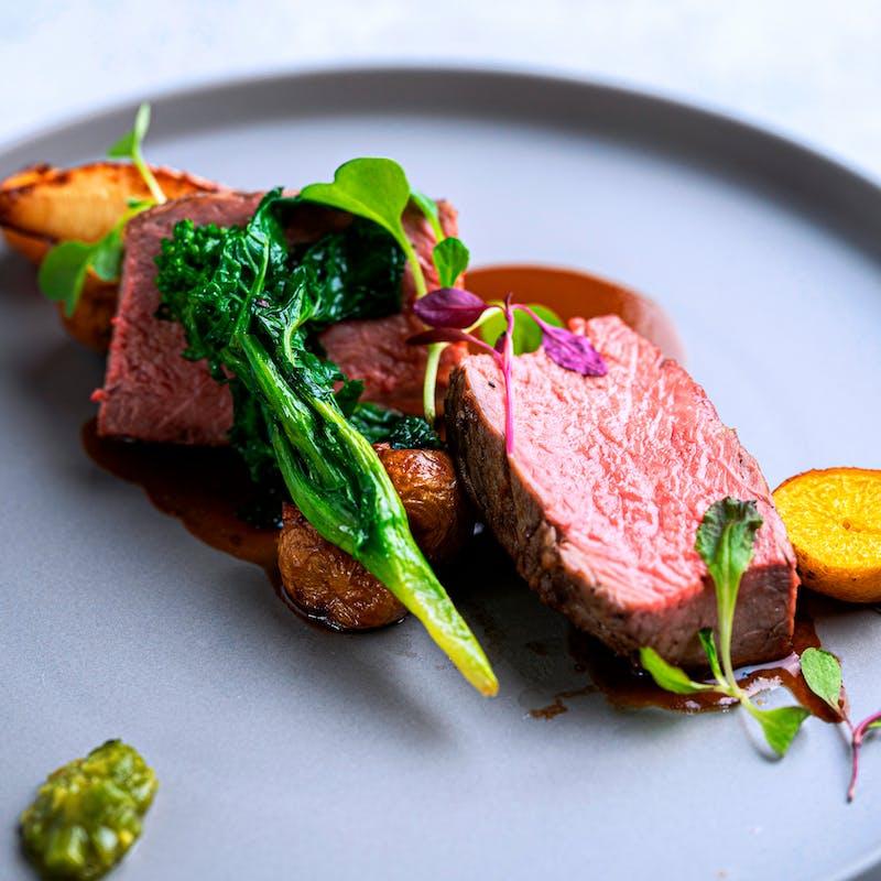 【ランチおまかせフルコース】前菜や魚・肉のWメイン全5品+乾杯酒+メイングレードUP