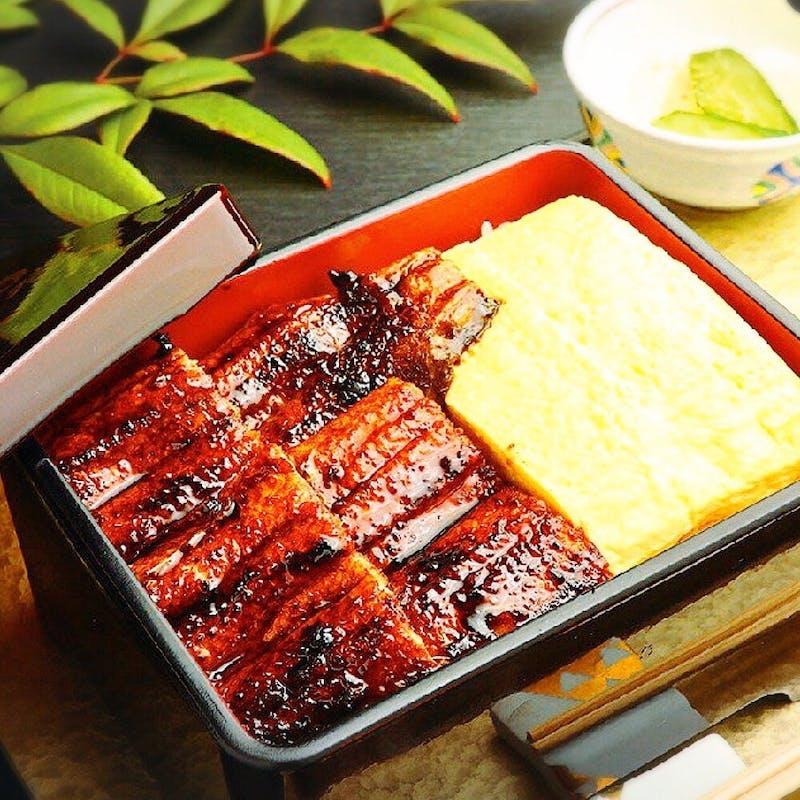 【中黄金鰻重】名古屋コーチン卵焼き、香の物、お吸い物付き+乾杯ドリンク(記念日)