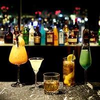 種類豊富なアルコールをご堪能