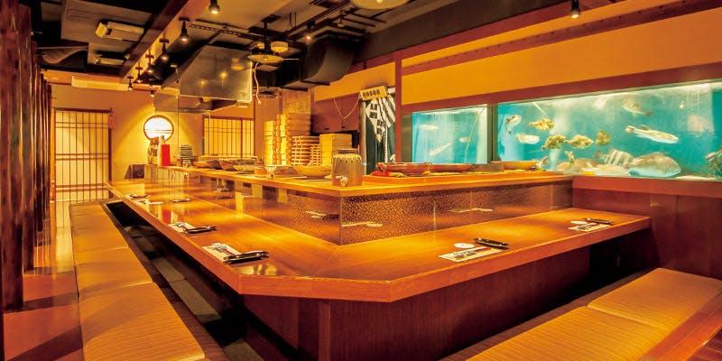 記念日におすすめのレストラン・博多中洲 旬菜万葉の写真1