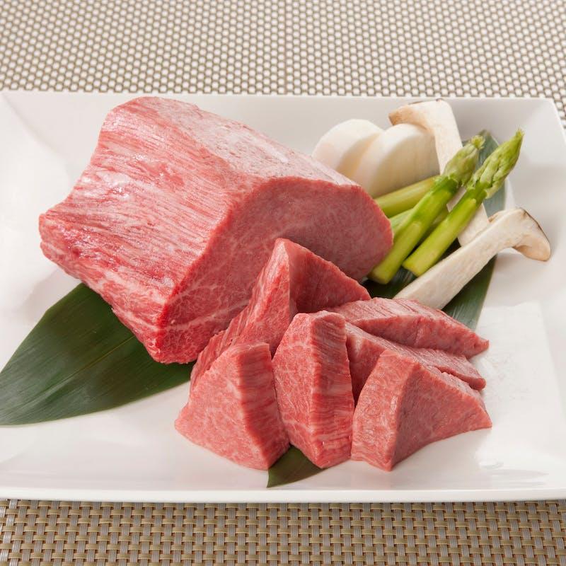 【 最上牛ランプコース】ランプ肉150gを堪能 全4品(リクエスト予約)