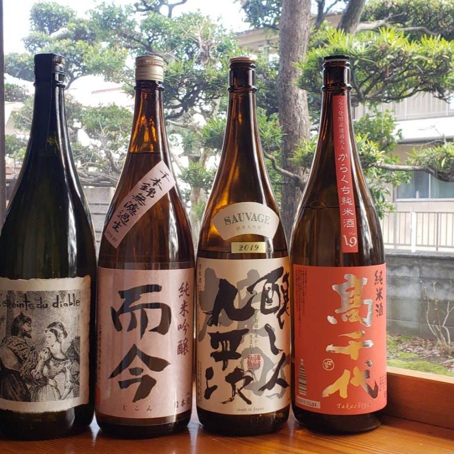 季節の日本酒・焼酎へのこだわり