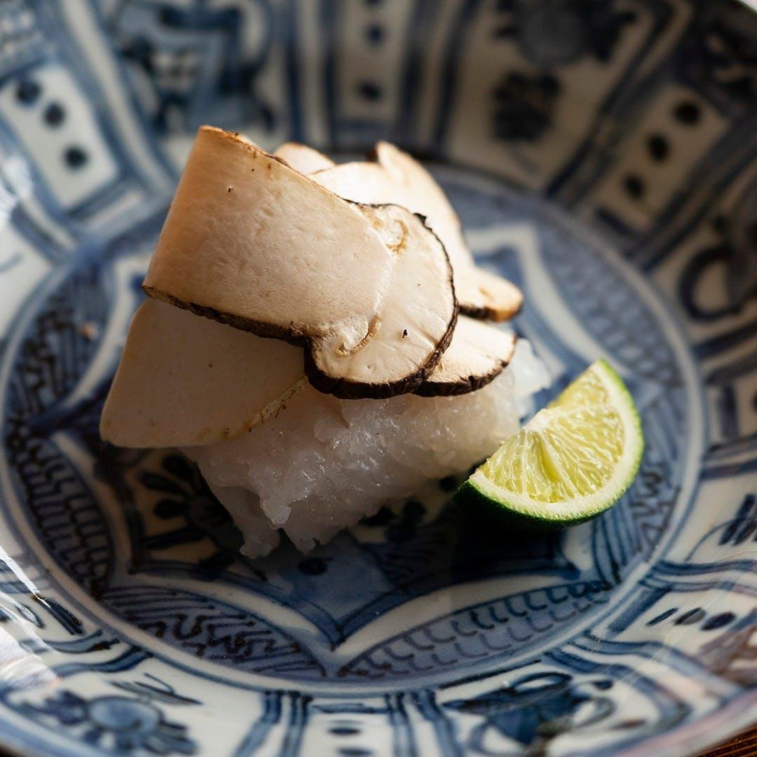 野菜と魚介類を主体に日本の旬を味わう