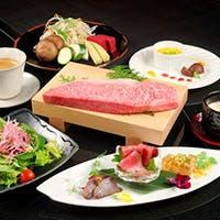 こだわりの極上神戸牛ステーキ
