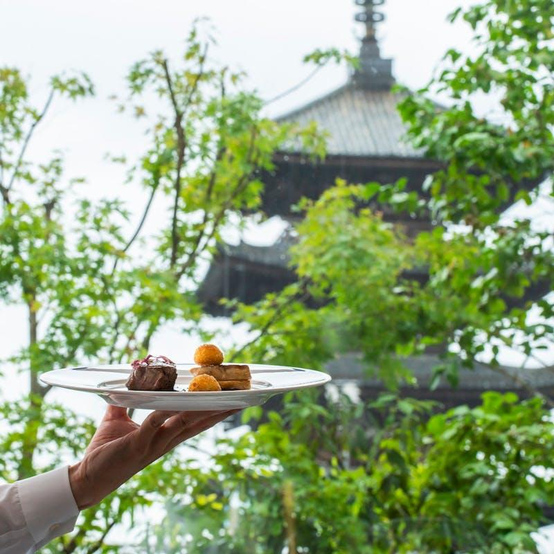 【アニバーサリーコース】ケーキ付 メニューより前菜、メイン、デザート 全4品