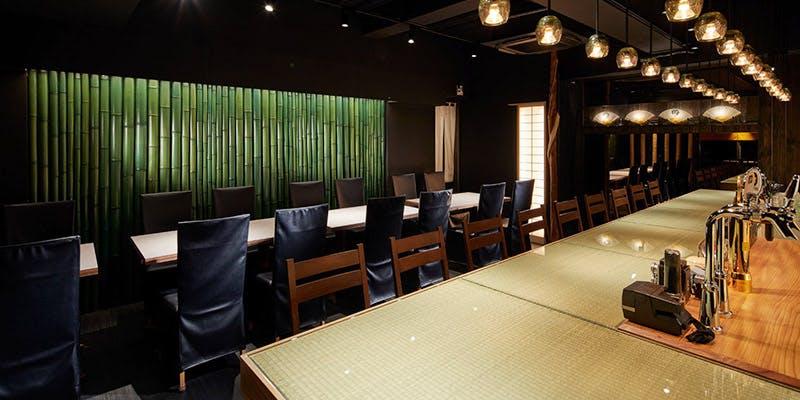 記念日におすすめのレストラン・十番右京 恵比寿店の写真1