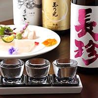 日本全国より取り揃えた銘酒の数々