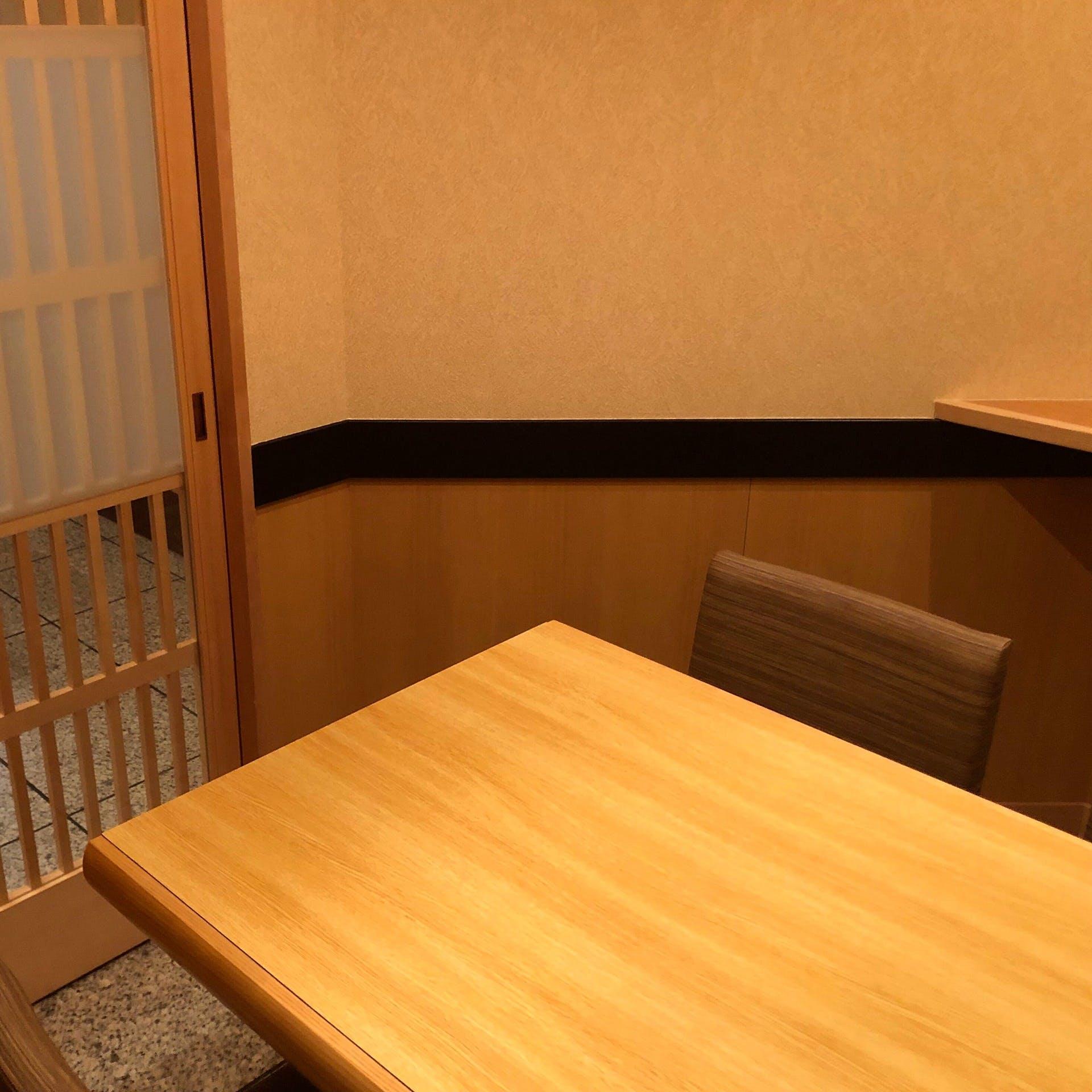 接待にもおすすめの個室席