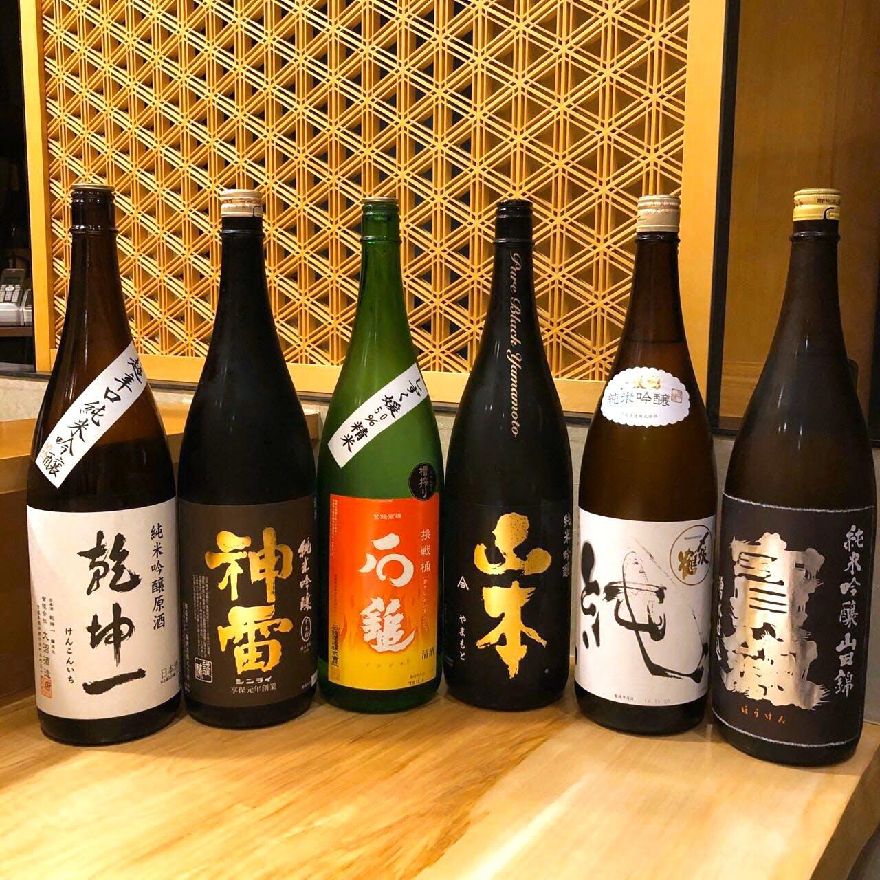 日本料理とお酒のマリアージュ