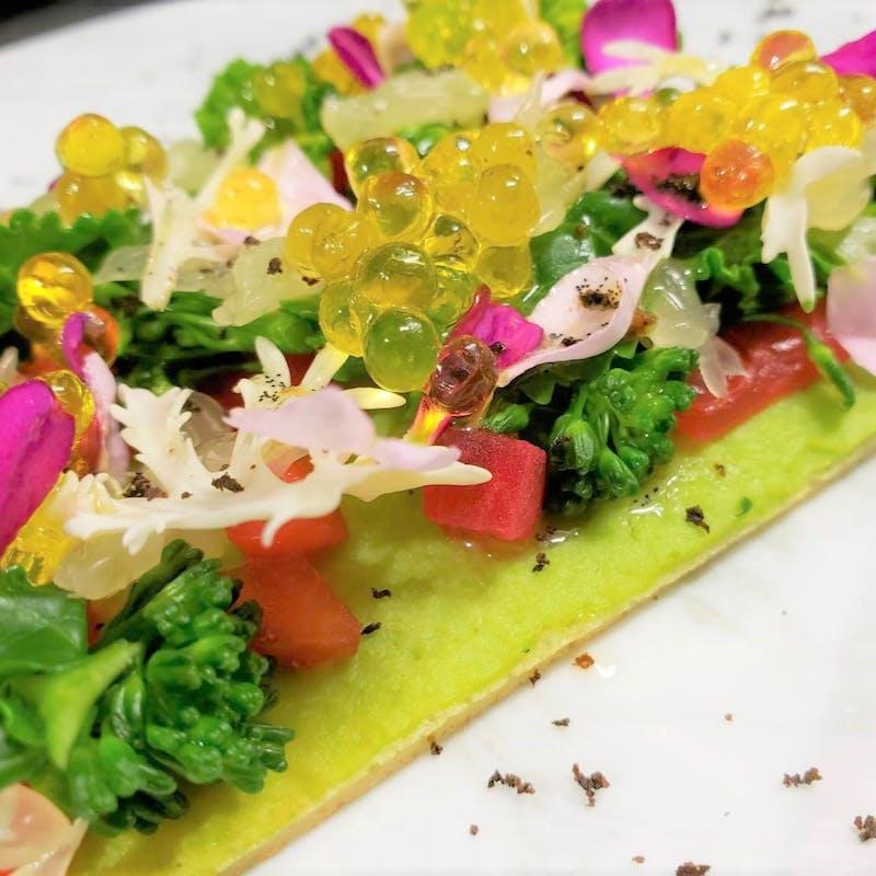 【PRANZO】前菜、30種類の食材を使用したサラダ、メイン等(金土・12時スタート限定)